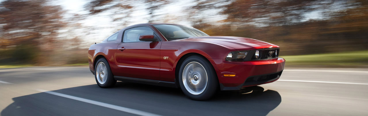 2010 Mustang came in a wide range of models that were cheaper and unrefined to something that as refined and consequently heavier on the pocket as well.